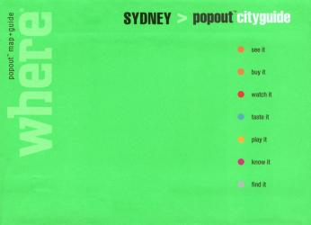 Sydney, Australia, CityGuide with PopOut Maps by Globe Pequot Publishing