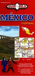Mexico, Central, Tourist Map by Guia Roji