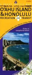Oahu and Honolulu, Recreation and Transit by Great Pacific Recreation & Travel Maps