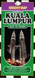 Kuala Lumpur, Malaysia, Map 'n' Guide by Groovy Map Co.