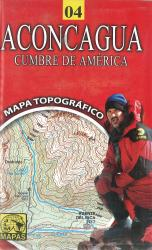 Aconcagua, Chile Hiking Map by Juan Luis Mattassi Alonso