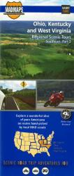 Ohio, Kentucky and West Virginia, Regional Scenic Tours by MAD Maps