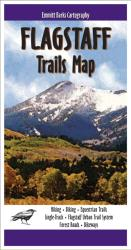 Flagstaff, Arizona, Trails Map by Emmitt Barks Cartography
