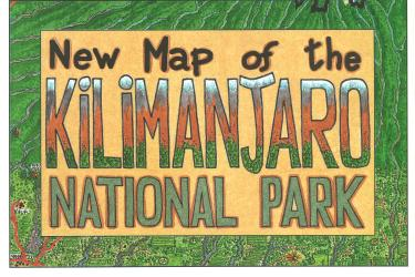 Kilimanjaro National Park by GT Maps