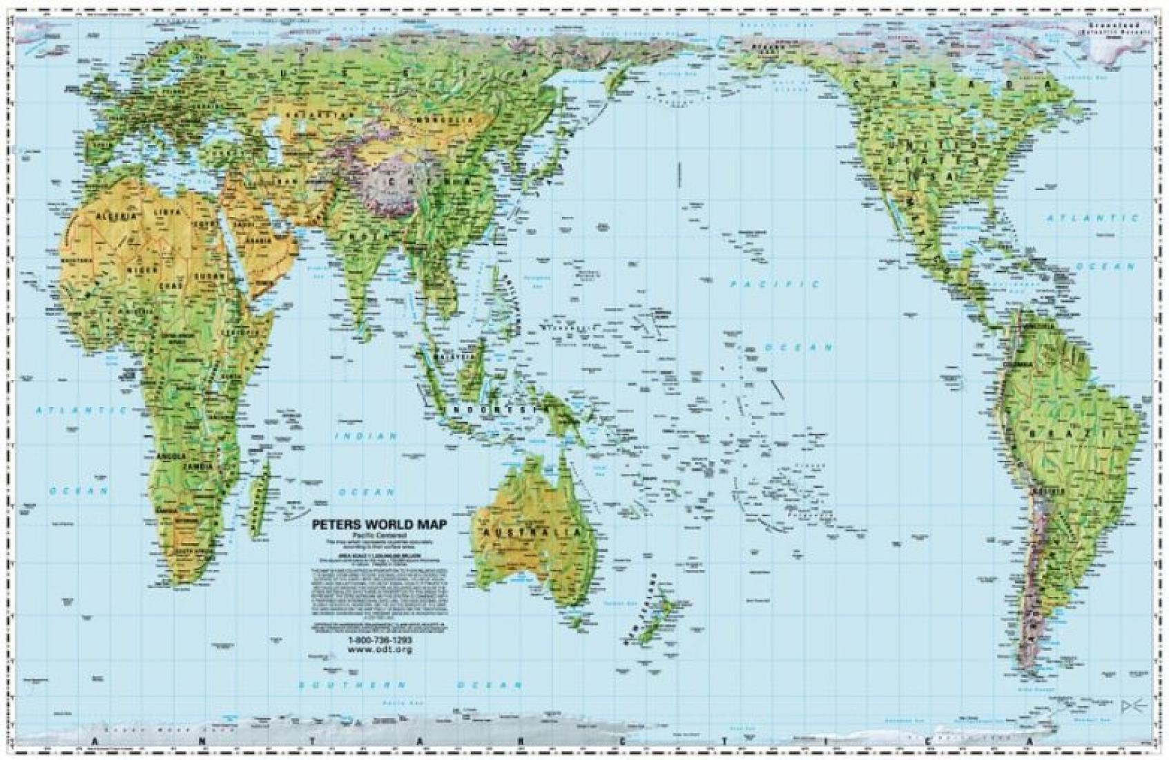 World peters projection pacific centered by odt inc gumiabroncs Image collections
