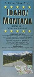 Idaho and Montana by Five Star Maps, Inc.
