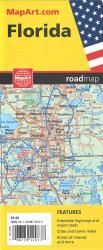 Florida State Road Map by Canadian Cartographics Corporation