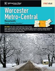 Worcester, Metro and Central Massachusetts by Kappa Map Group