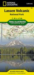 Lassen Volcanic National Park by National Geographic Maps