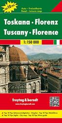 Tuscany and Florence, Italy by Freytag, Berndt und Artaria