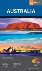 Australia, large format by Hema Maps