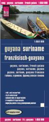 Guyana, Suriname and French Guiana by Reise Know-How Verlag