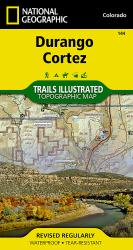 Durango and Cortez, Colorado (144) by National Geographic Maps