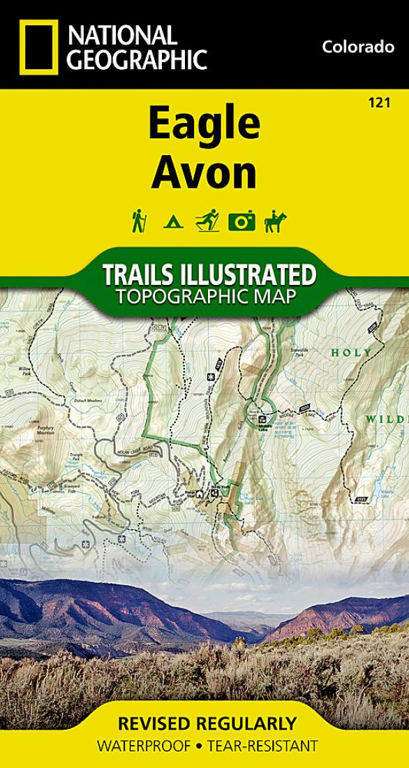 Eagle And Avon Colorado Map 121 By National Geographic Maps