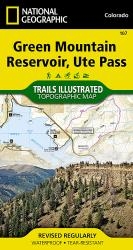Green Mountain Reservoir and Ute Pass, Map 107 by National Geographic Maps