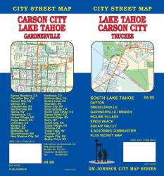 Lake Tahoe, California with Carson City, Minden and Garnerville by GM Johnson