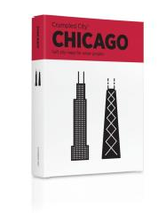 Chicago, Illinois Crumpled City Map by Palomar S.r.l.