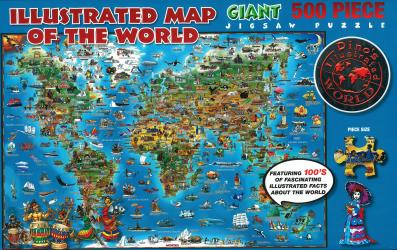 Dino's, World Puzzle by Dino Maps