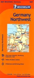 Schleswig-Holstein, Niedersachsen, Hamburg, and Bremen (541) by Michelin Maps and Guides