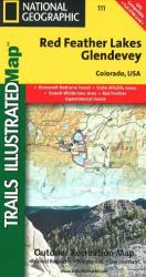 Red Feather Lakes and Glendevey, Map 111 by National Geographic Maps
