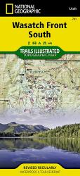 Uinta National Forest, Timpanogos and Lone Peak, Map 701 by National Geographic Maps