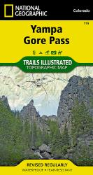 Yampa, Gore Pass, Colorado (119) by National Geographic Maps