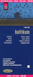 Baltic Countries, Estonia, Latvia and Lithuania by Reise Know-How Verlag