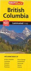 British Columbia, Fast Track Laminated Map by MapArt Publishing
