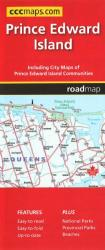 Prince Edward Island, Road Map by Canadian Cartographics Corporation