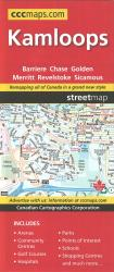 Kamloops, British Columbia, Street Map by Canadian Cartographics Corporation