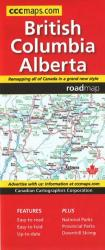 British Columbia and Alberta, Road Map by Canadian Cartographics Corporation