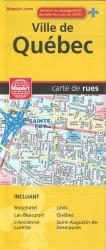 Ville de Quebec Street Map by MapArt Publishing