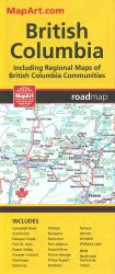 British Columbia Road Map by MapArt Publishing