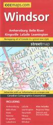 Windsor Ontario Street Map by Canadian Cartographics Corporation