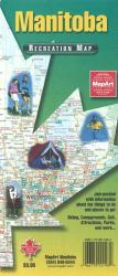 Manitoba Recreation Map by Canadian Cartographics Corporation, MapArt Corporation