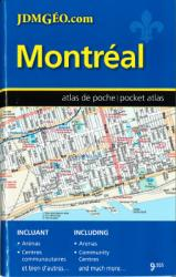 Montreal, Pocket Street Atlas, French/English Edition by Canadian Cartographics Corporation, JDM Geo Inc.