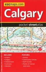 Calgary AB Pocket Street Atlas by Canadian Cartographics Corporation