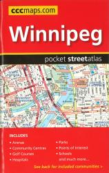 Winnipeg MB Pocket Road Atlas by Canadian Cartographics Corporation