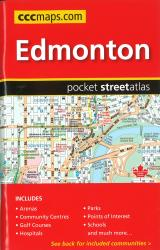 Edmonton AB, Pocket Street Atlas by Canadian Cartographics Corporation