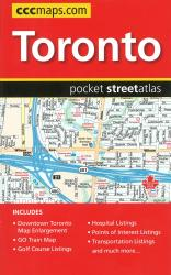 Toronto Pocket Street Atlas by Canadian Cartographics Corporation