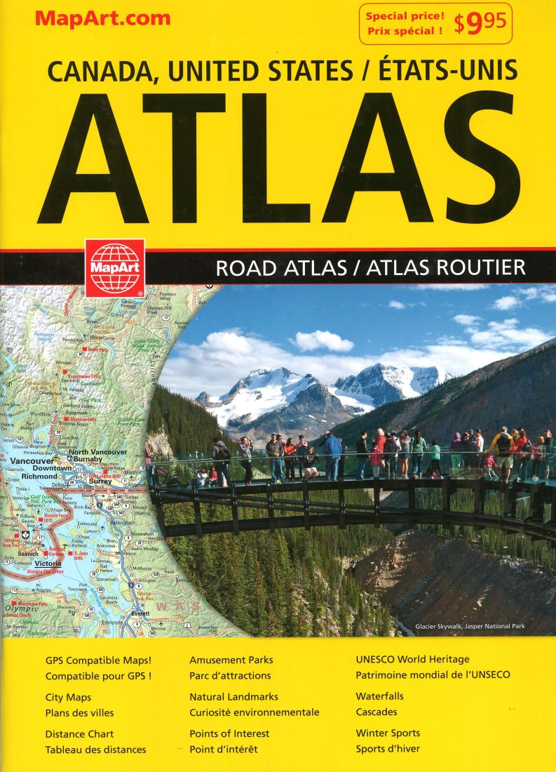 Canada & United States Road Atlas (French/English edition