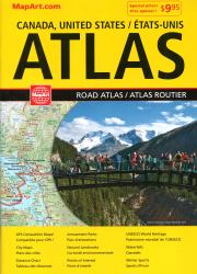 North America Road Atlas, French/English Edition by Canadian Cartographics Corporation