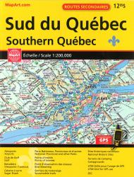 Southern Quebec Back Road Atlas by Canadian Cartographics Corporation