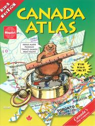 Canada Atlas (Kids Edition) by Canadian Cartographics Corporation