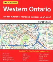 Western Ontario Street Atlas by Canadian Cartographics Corporation