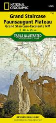 Grand Staircase, Paunsaugunt Plateau, Map 714 by National Geographic Maps
