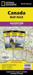 Canada, Map Pack Bundle by National Geographic Maps