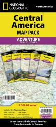 Central America, Map Pack Bundle by National Geographic Maps