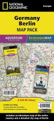 Germany & Berlin Map Pack Bundle by National Geographic Maps