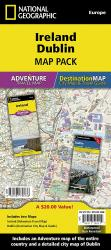 Ireland & Dublin Map Pack Bundle by National Geographic Maps